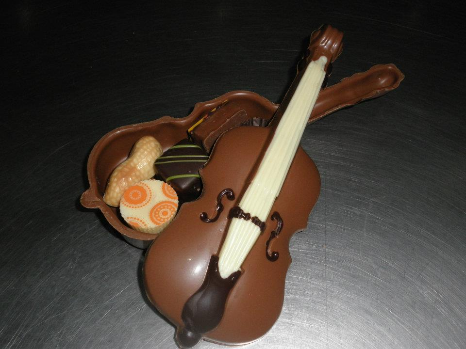 Chocolate artwork